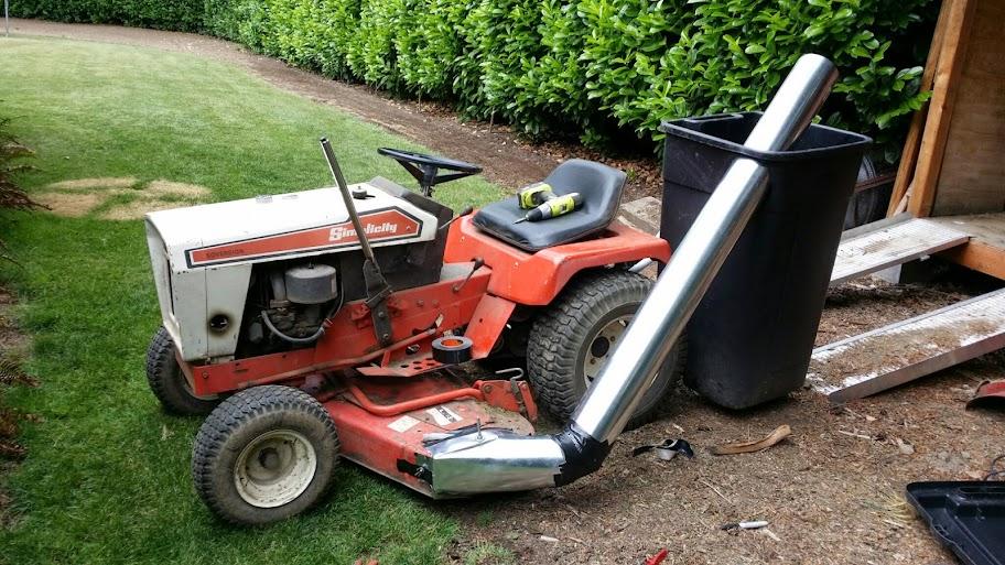 Diy Riding Lawn Mower Bagger Diy Do It Your Self