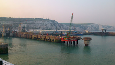 246 tonne pile and pier extension in Dover Harbour