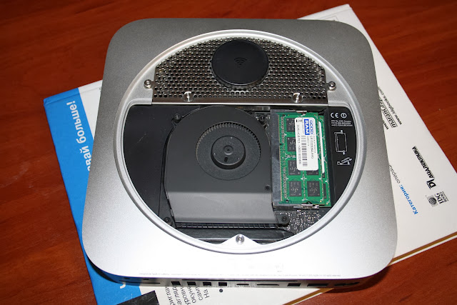 Mac mini без крышки