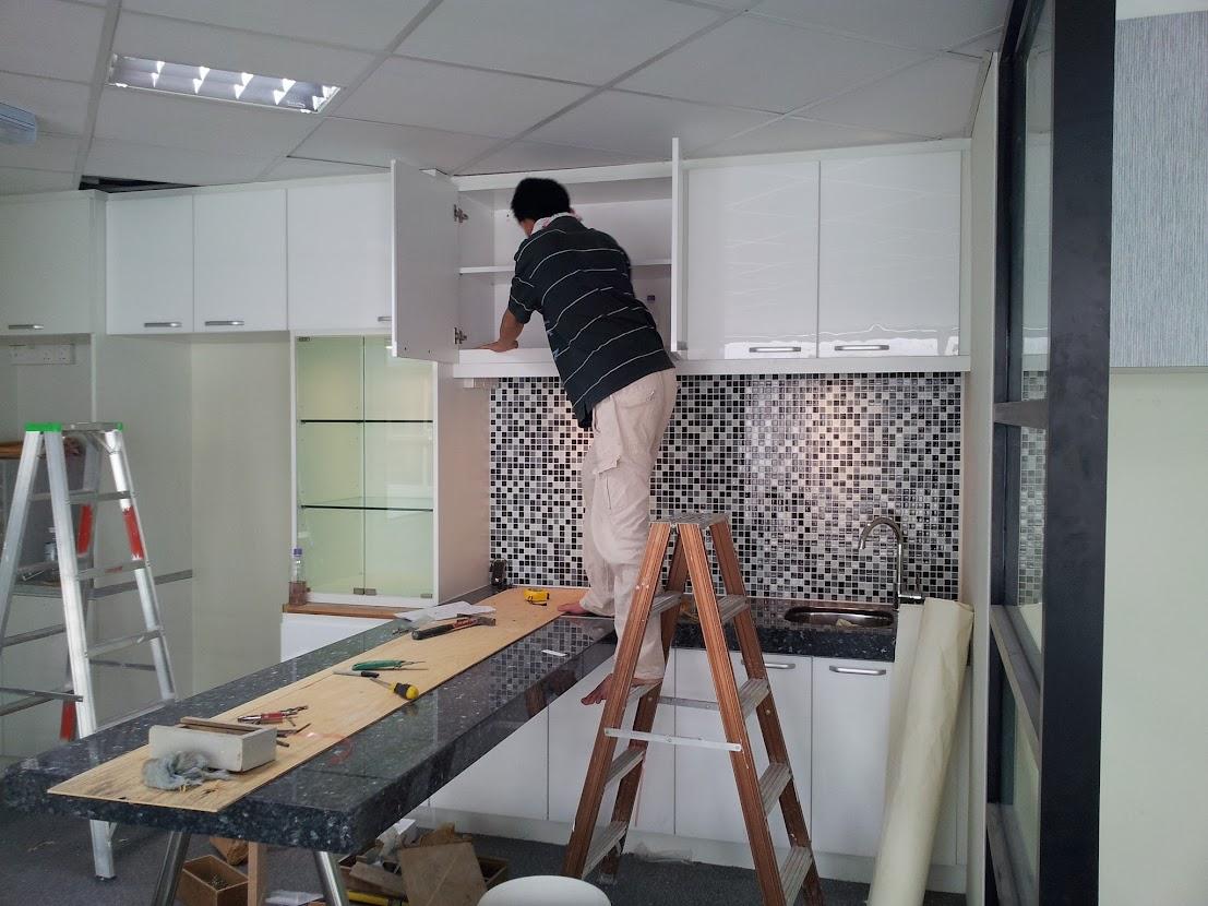 install cabinet door
