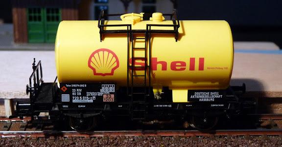 Fleischmann 5411: Shell ketelwagen