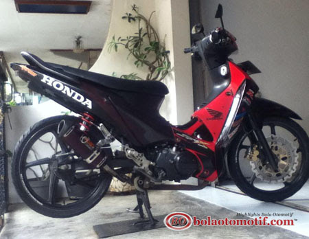 Motor Supra 125 Modifikasi
