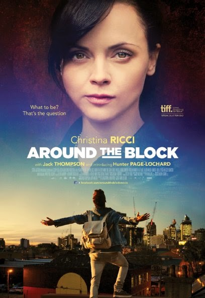 Poster Of English Movie Around the Block (2013) Free Download Full New Hollywood Movie Watch Online At alldownloads4u.com