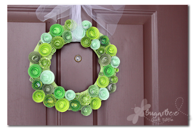 wreath for St. Patty's Day