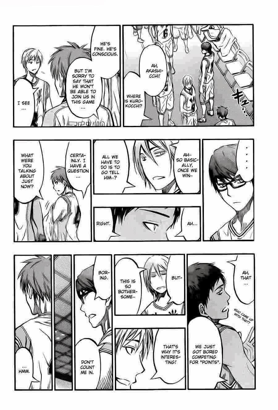 Kuroko no Basket Manga Chapter 226 - Image 08