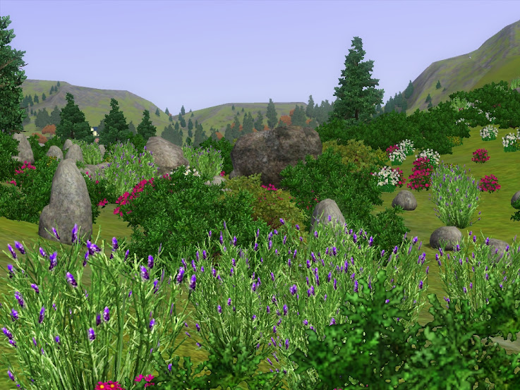 North Mountains sims3 delsburg free download map