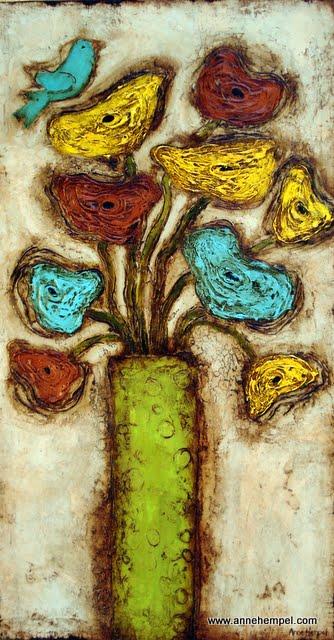 in Citron Vase