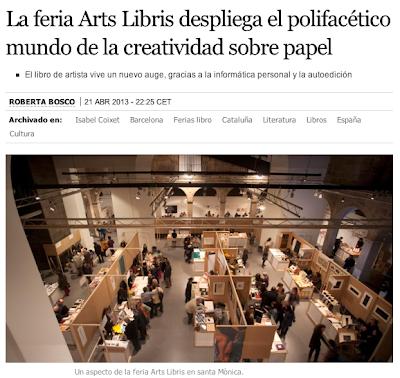 Article Arts Libris El País