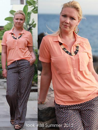 фото пижамный стиль, женский лук лето 2012