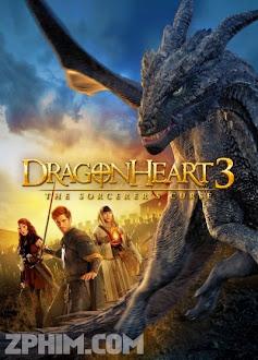 Trái Tim Rồng 3 - Dragonheart 3: The Sorcerer's Curse (2015) Poster