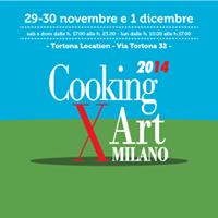 Cooking For Art dal 29 Novembre al 1 Dicembre Milano