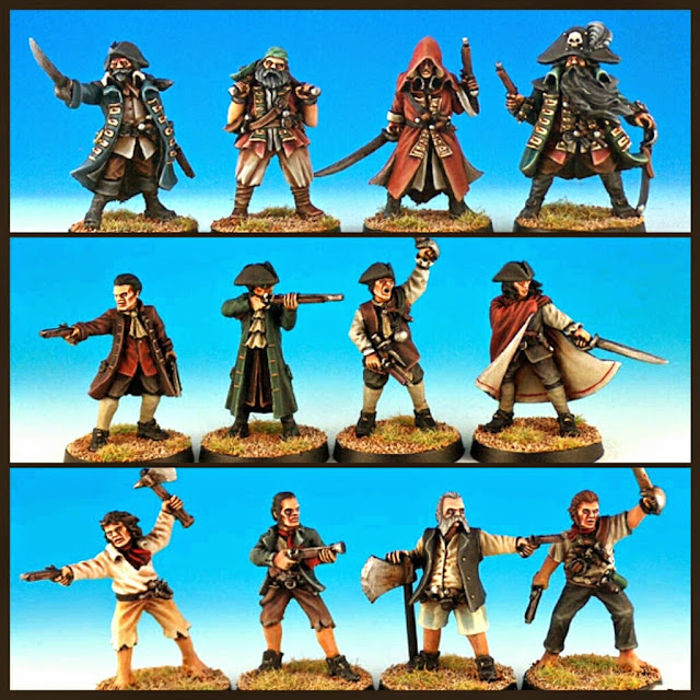 tropas piratas Black Scorpion