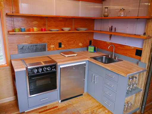 Tiny House Appliances >> Utuy Design Tiny House Kitchen