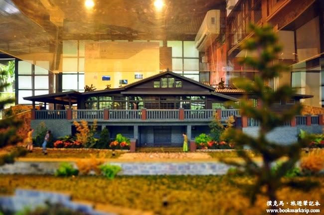 梅庭建築模型