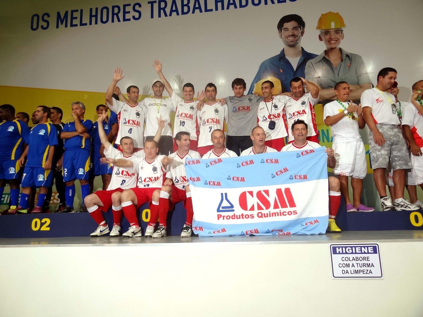 Equipe de Futebol Sete Master da CSM é campeã brasileira do Campeonato SESI e vai disputar mundial DSC02153