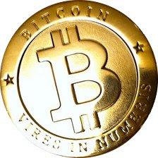 Representación de un bitcon