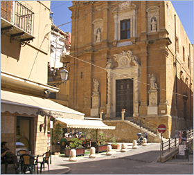 Sizilien - Agrigento - Blick auf die Chiesa del Purgatorio.