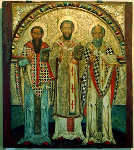 The Three Hierarchs As Hierarchs Of The People
