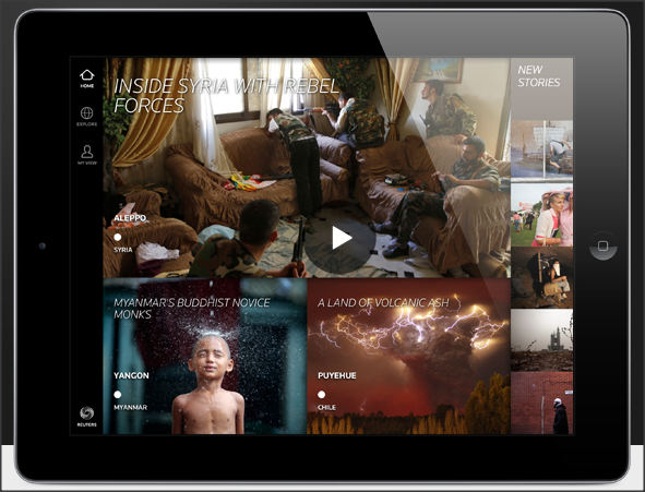 Reuters The Wider Image para iPad