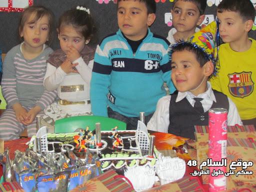 انا اسمي كريم رائد مصاروه من باقة الغربية اتعلم في روضة عدن اليوم عيد ميلادي الرابع اترككم مع الصور  IMG_5259