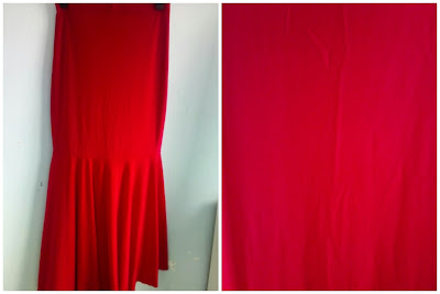 Skirt Mermaid Merah