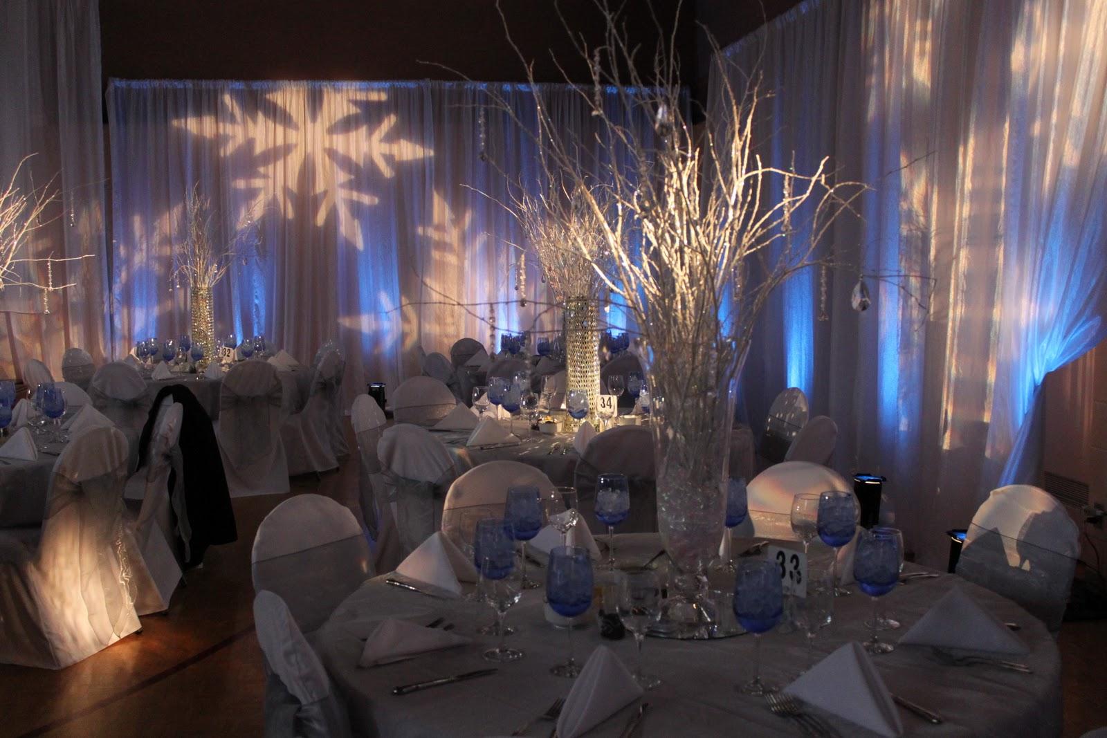 The Tres Chic Bride Winter Wonderland Wedding