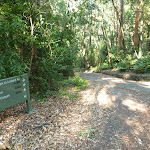 Intersection and sign in the Blackbutt Reserve (399586)