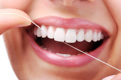 Teeth Whitening By Flossing Photo