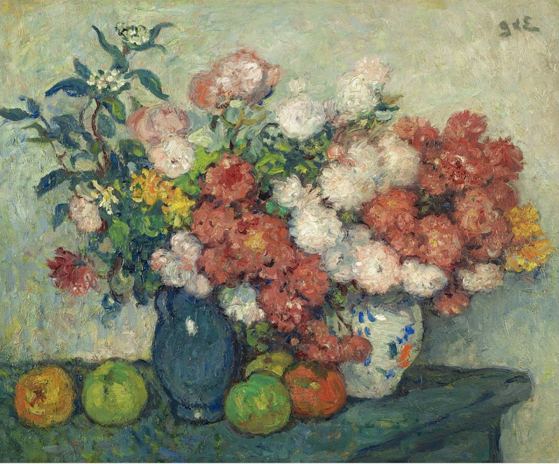 Georges d'Espagnat - Still Life with Flowers,1898