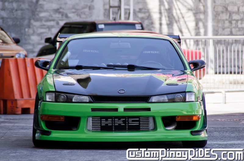 Mean Green Nissan S14 Silvia Custom Pinoy Rides Car Photography Philippines Philip Aragones THE aSTIG pic4