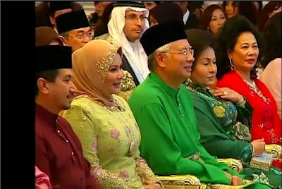 Gambar Najib Rosmah Semasa Majlis Pertunangan Nooryana Najwa