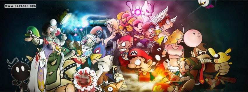 Capas para Facebook Games de Nintendo