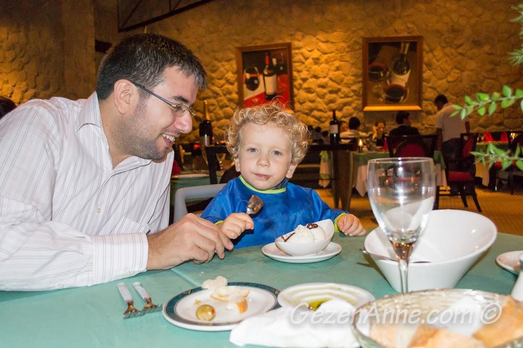 Dondurma Keyfi, Ala cart restoran, Calista Otel