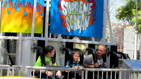 The boys and me on Supreme Scream