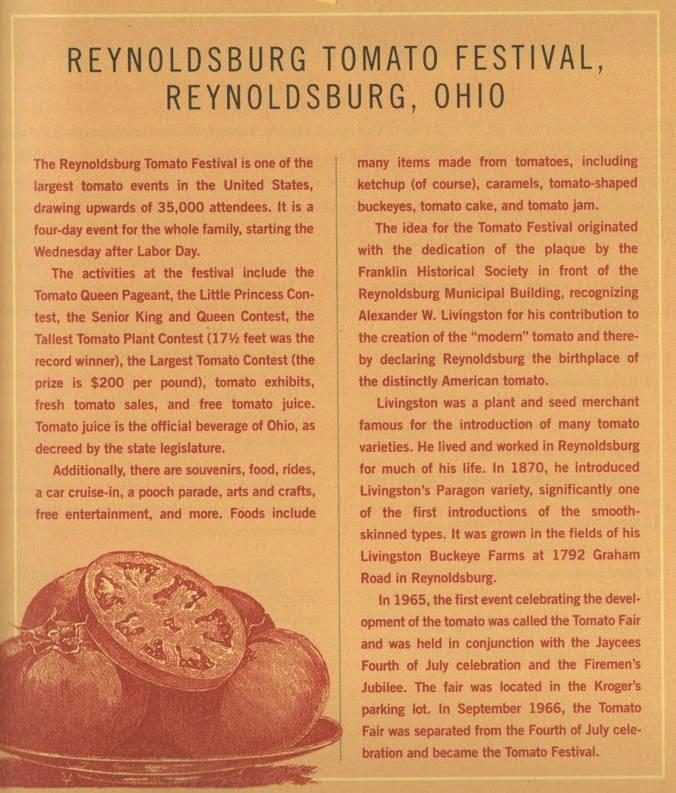 Reynoldsburg Tomato Festival