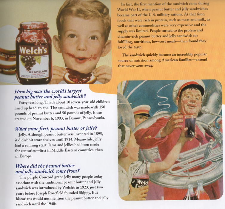Peanut Butter and Jelly History | The Magic in Jelly ©2005