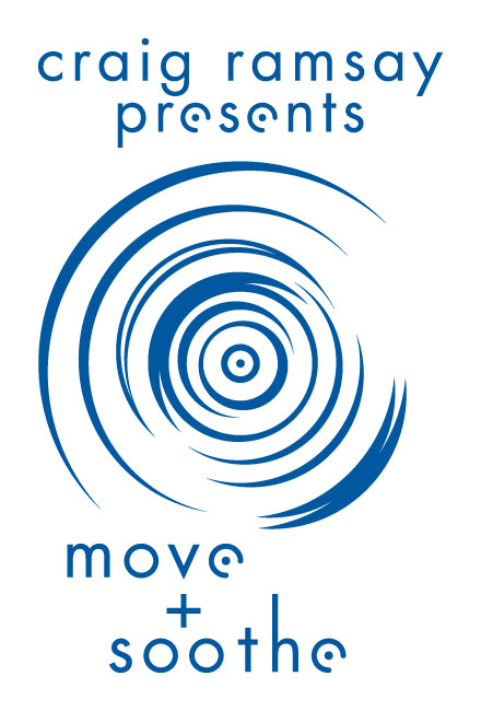"Save the date, August 27 is our first research institute fundraiser: Craig Ramsey presents""Move and Soothe"" at Creative Chakra Spa"