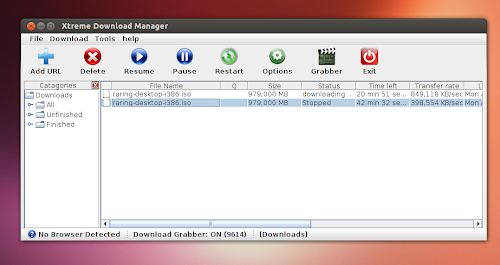 Xtreme Download Manager su Ubuntu