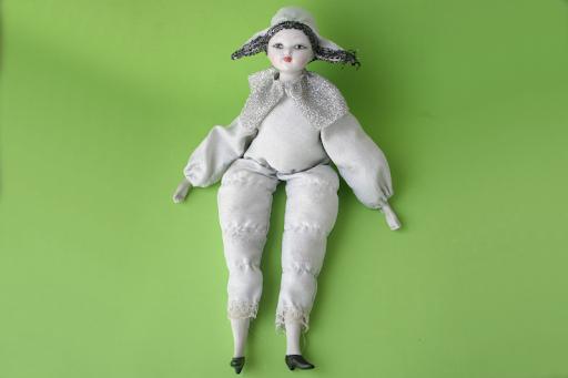 ARLEQUIN de Porcelana VINTAGE.  Vendo