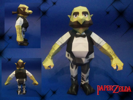 Mr Barten Papercraft