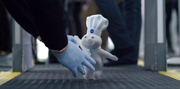 The Pillsbury Dough Boy Stars In The Newest GEICO TV Commercial