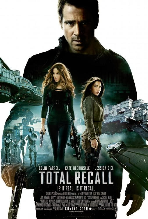 Poster Of Total Recall (2012) Full Movie Hindi Dubbed Free Download Watch Online At Alldownloads4u.Com