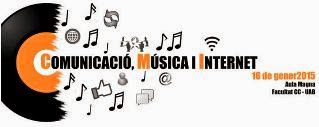 Jornada comunicacio musica i internet