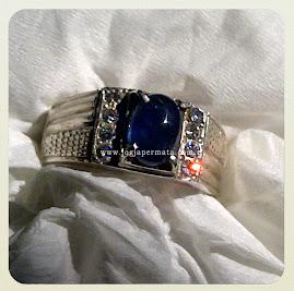 Batu Permata Blue Sapphire