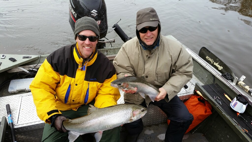 Grand River Steelhead Fishing