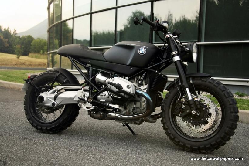 BMW R1200R Neo-Retro Scrambler Lazareth