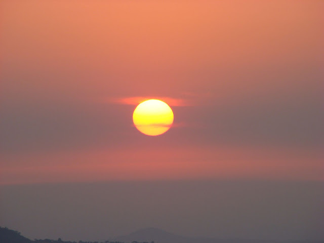 sun from amba ghat