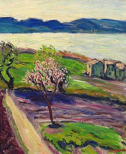 René Seyssaud - Arbre en fleurs