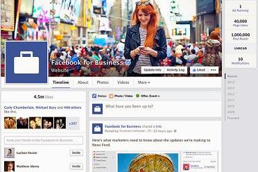 El nuevo diseño de las páginas de Facebook