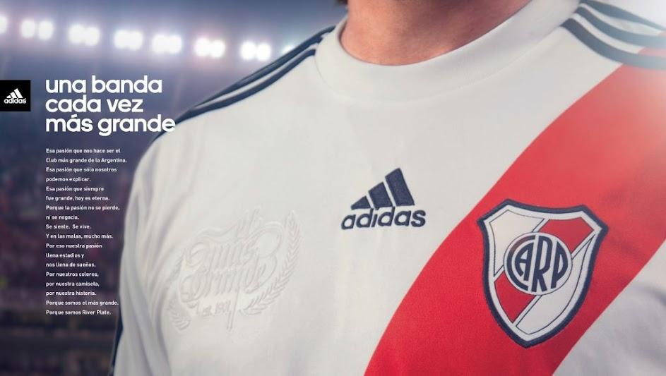 Nueva Camiseta de River 12/13
